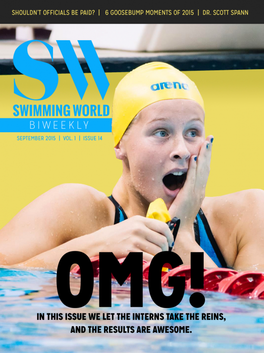 Swimming World Biweekly: The Best Collection of Summer Articles - Cover
