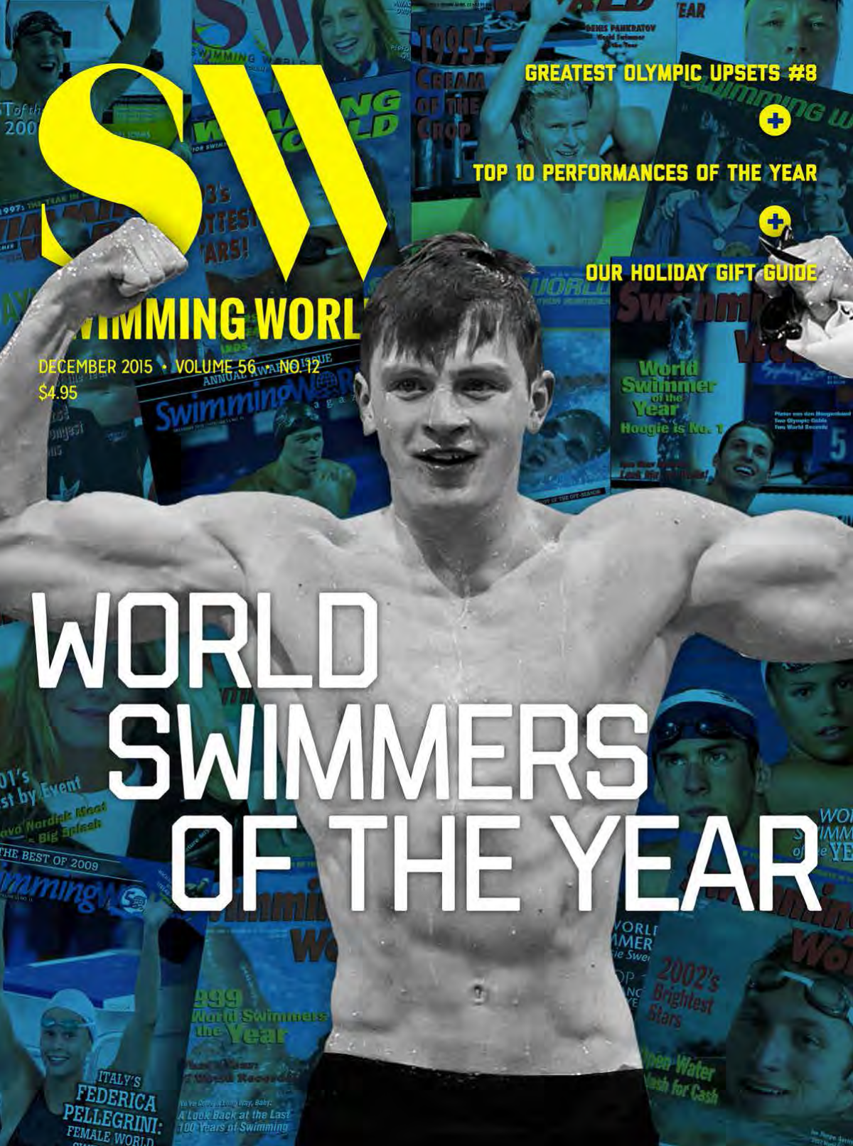 Swimming world magazine december 2015 issue for Time magazine subscription cancellation