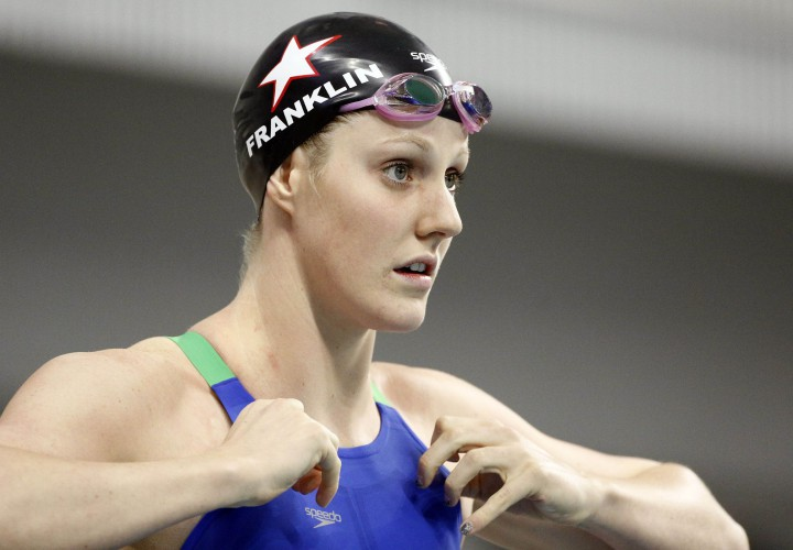 Missy Franklin Returns to California For 2015 Honda Cup Ceremony