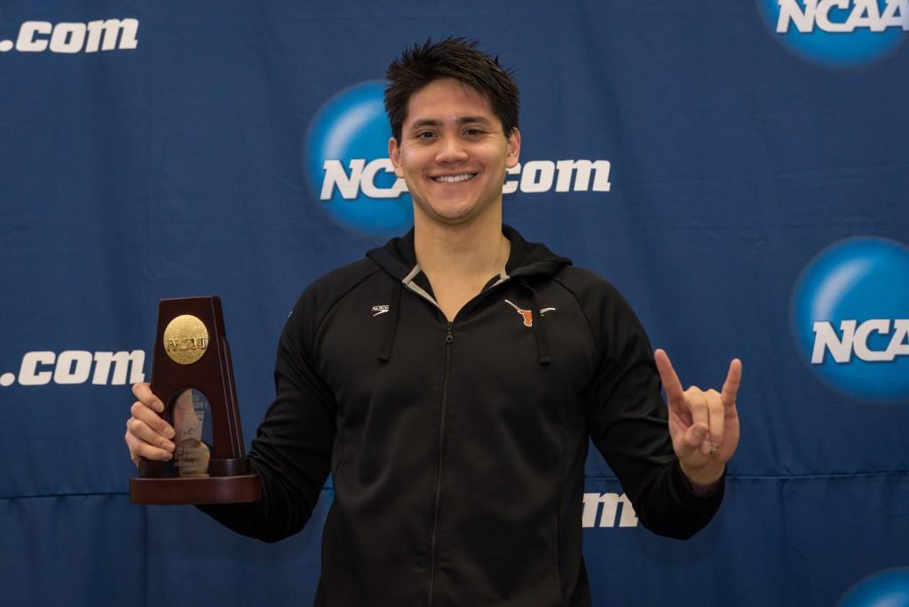 2016.03.26 NCAA Mens Swimming Championships_Reagan_Texas Joseph Schooling