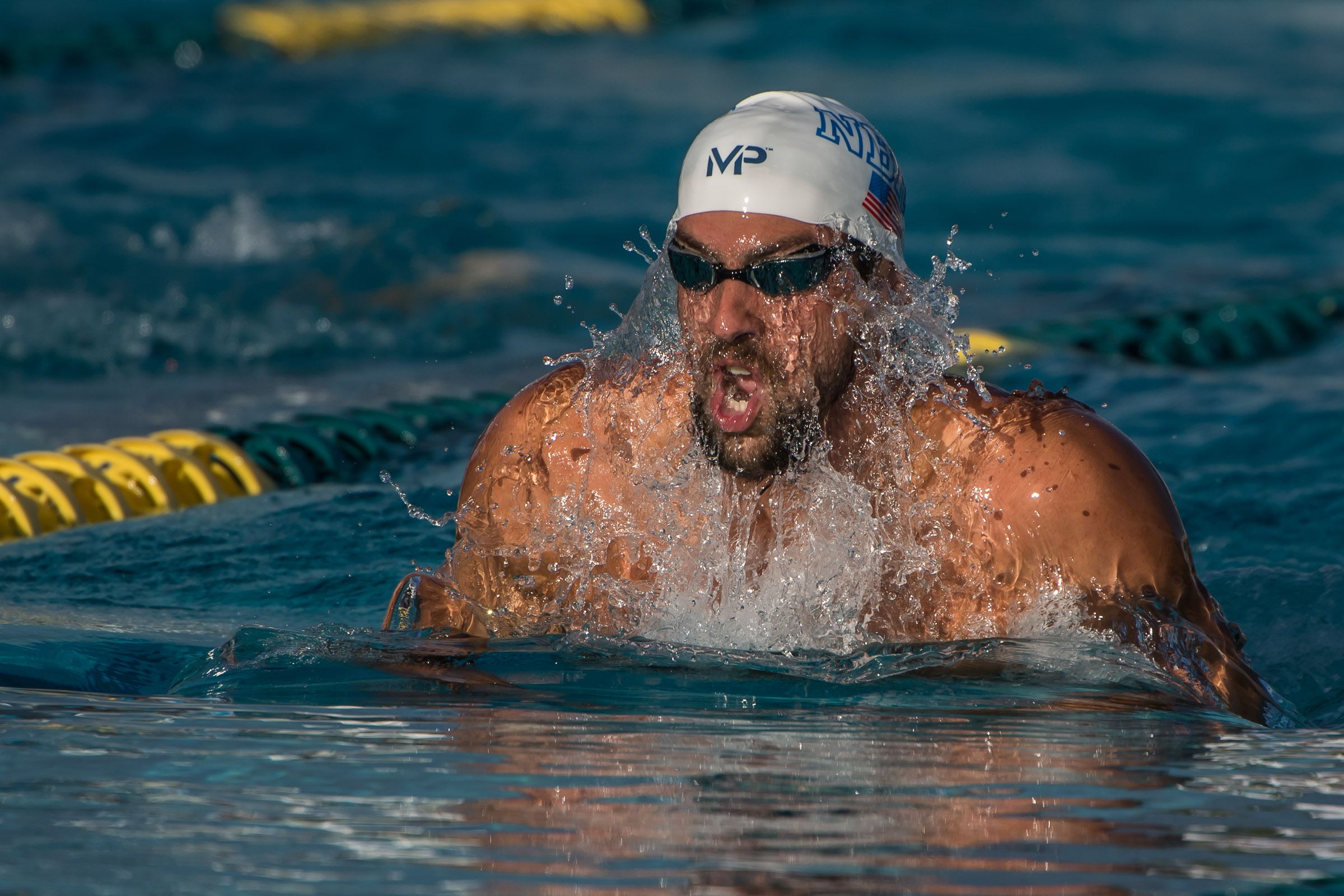 Michael Phelps Scratches 200 Free