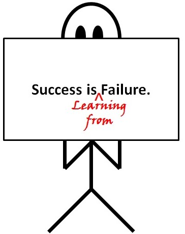 speech on success and failure Read story turning my failure into success (essay) by officialjao (jao cerezo adriano) with 6,393 reads failure, success everyone has encountered failures an.