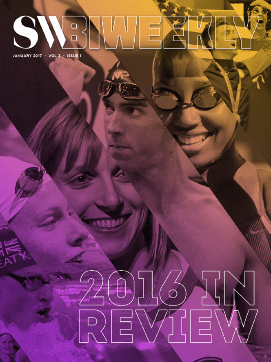Swimming World Biweekly: 2016 In Review - Cover