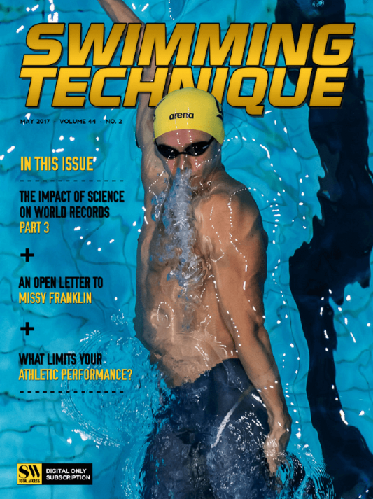 Swimming Technique May 2017 Issue - Cover