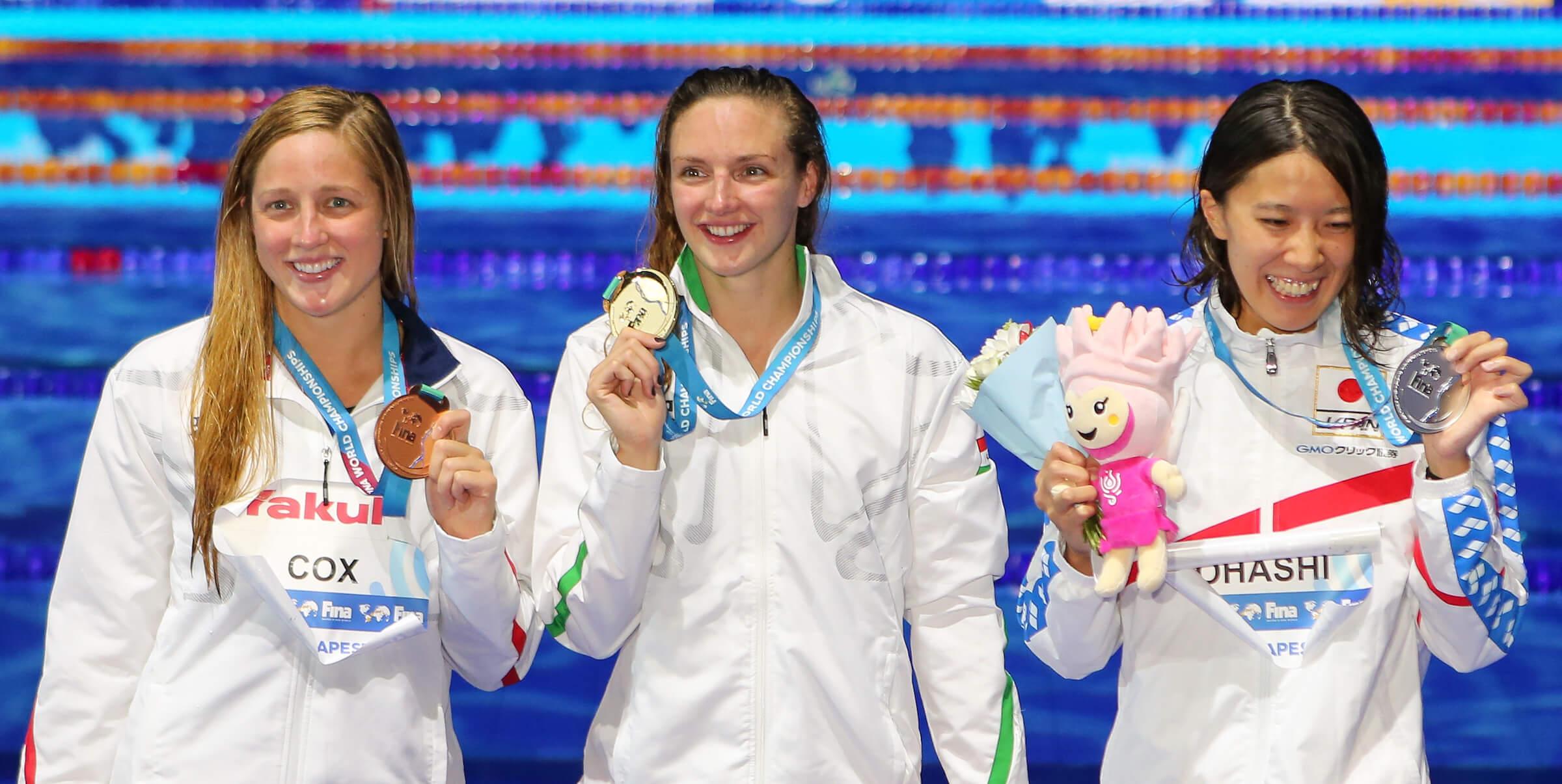 madisyn-СОХ-Катинка-Хосзу-Юи-ohashia-200-IM-медали на 2017 г. светове