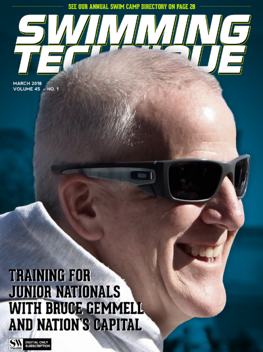 Swimming Technique March 2018 Issue - Cover