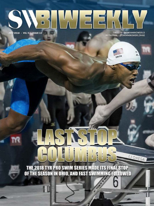 Swimming World Biweekly: Last Stop Columbus - Cover