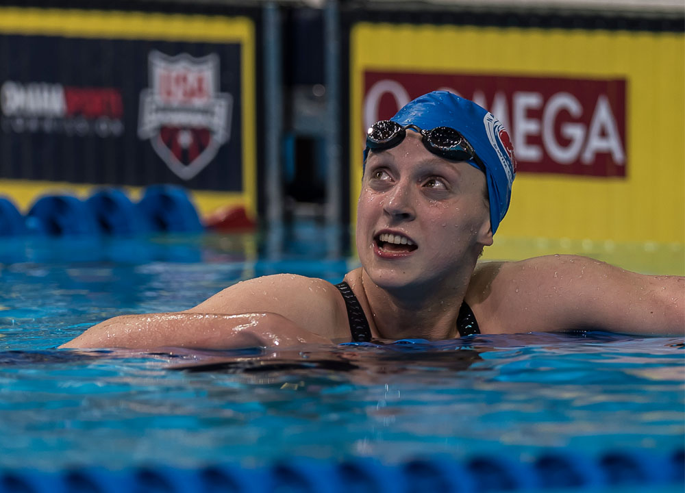 Swimming World Presents - Special Sets: Katie Ledecky - Run-Up To Rio 2016 - Swimming World Magazine