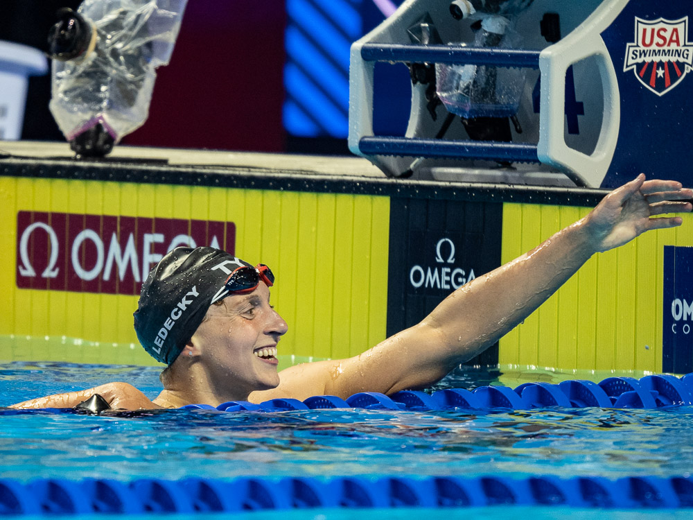 4:01 400 Free Qualifies Katie Ledecky for Tokyo, But She's The Underdog - Swimming World Magazine