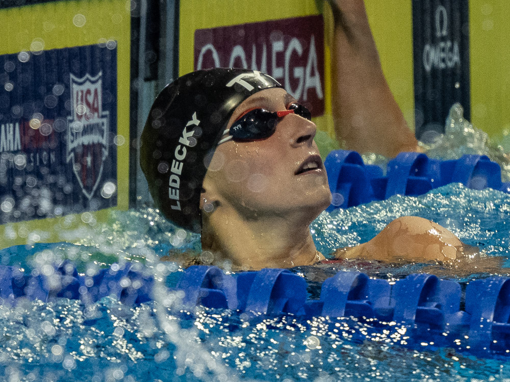 US Olympic Trials: Katie Ledecky Cruises to 8:16 in 800 Free - Swimming World Magazine