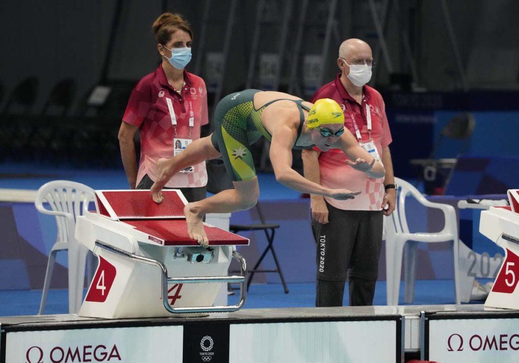 ariarne titmus, olympics